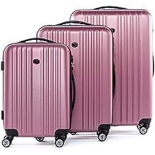 FERGÉ Maleta juego de maletas rigidas 2 3 piezas TOULOUSE trolley muchos colores y tamaños equipaje