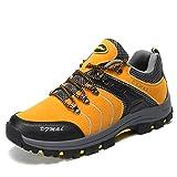 Zapatillas de Trekking Outdoor Walking Travel Zapatos Botas de montaña Zapatillas de senderismo Para Hombre Amarillo42