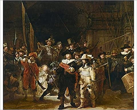 Photographic Print of The Nightwatch (colour litho)