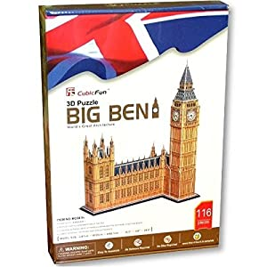 CubicFun- Puzzle 3D Big Ben (CPA Toy Group Trading S.L. MC087)