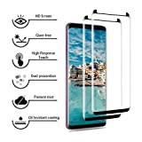 AAJO Galaxy S9 Plus Screen Protector,[2 Pack] Tempered Glass Screen Protector [Case Friendly] 9H Hardness,Anti-scratch,Bubble-Free Screen Protector Film for Samsung Galaxy S9 Plus