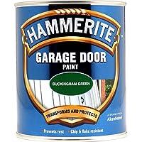 Hammerite 5092851HM Garage Door vernice, 750ml, Buck
