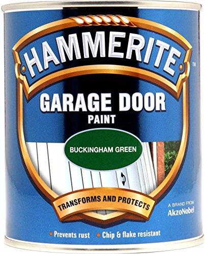 Price comparison product image Hammerite 5092851 Hm Garage Door Paint,  750 ml,  Buck Green