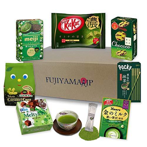 Japanese Matcha Green Tea Sweets and Snacks assortment gifts 8 pcs -