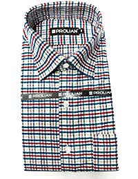 STC Men s Multicolor Woolen Checkered Cottswool Winter Wear Full Sleeves  Regular Fit Formal Shirt 0122 eab768627