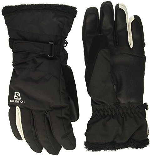 Salomon Gloves Force Dry W - Guantes, Mujer, Negro - (Black)