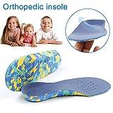 Symboat Plantillas Zapatos 1par de niños Plantillas ortopédicas EVA A..