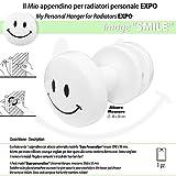 "Appendino per Radiatori PERSONAL BABY EXPO - Image ""SMILE"" - Appendini per Radiatori Ganci per Bagno"