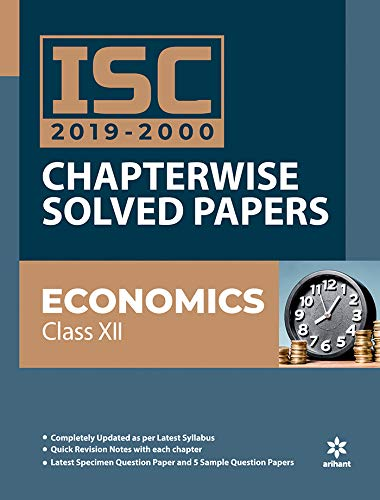 ISC Economics Chapterwise Solved Papers Class 12 2019-20