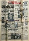 NOUVELLE REPUBLIQUE (LA) [No 5014] du 09/03/1961 - LARCHER ET ROLLAND INCULPES D'ENLEVEMENT DE MINEUR ET LEUR 3 COMPLICES ONT ETE ECROUES A VERSAILLES -ELECTIONS CANTONALES -LIZ TAYLOR TOUJOURS A LA LIMITE DU DANGER -LE GENERAL JACQUOT COMMANDE LE SECTEUR CENTRE-EUROPE PAR MAREY -REBONDISSEMENT DANS L'AFFAIRE DE BOURGANEUF -TSCHOMBE AUX LEADERS CONGOLAIS A TANANARIVE / FRONT COMMUN CONTRE L'ONU -LE DUC DE KENT EST FIANCE -SIR THOMAS BEECHAM EST MORT -PRES DE MONTARGIS / 3 ENFANTS SAUVES DU FEU