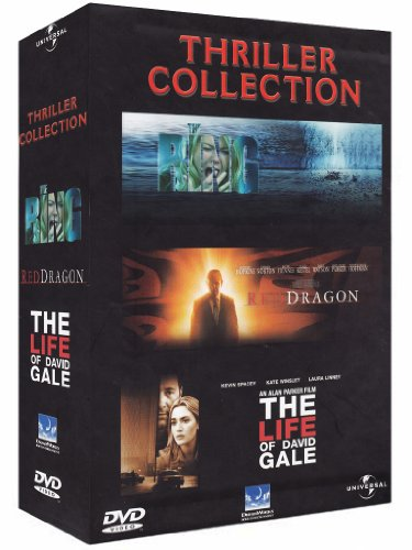 Thriller collection - The ring + Red dragon + The life of David Gale [4 DVDs] [IT Import] (Phillip Ratner)