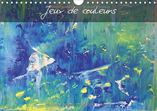 Jeux de couleurs : Art abstrait multicolore. Calen...