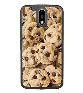 Cookies 2D Hard Polycarbonate Designer Back Case Cover for Motorola Moto G4