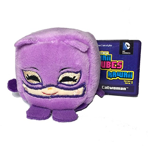 DC Comics Kawaii Cubes Cat Woman - Small Plush Collectible