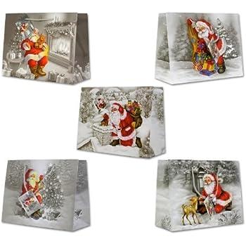 handmade 3D Applikationen braun 30 Geschenkt/üten Weihnachten 23x17x10