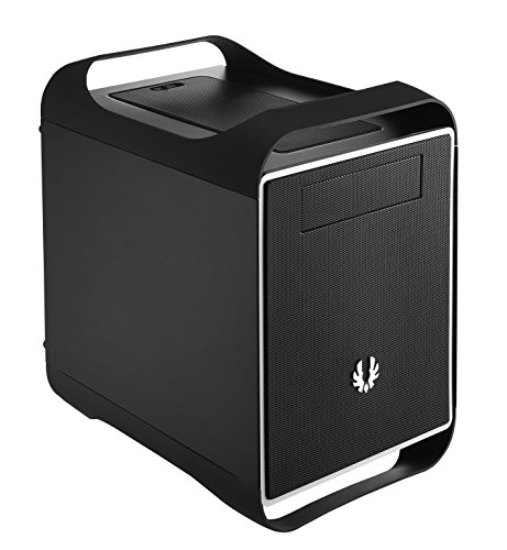 BitFenix Prodigy M Cube Black computer case - Computer Cases (Cube, PC, Plastic, Steel, Micro-ATX,Mini-ITX, Black, Bottom)