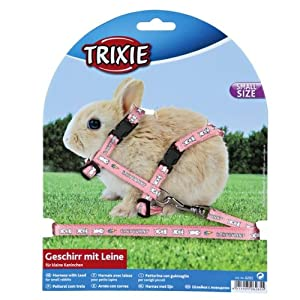 Cute Trixie Rabbit Harness & Lead Set For Walking 6265 by Trixie