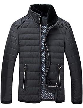 MHGAO Por la chaqueta chaqueta caliente chaquetas de invierno Nueva Ropa de Hombre , black , m
