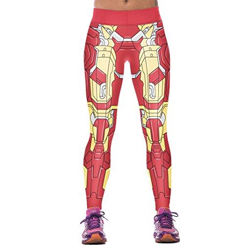 Sasairy-Donna-Sport-Pantaloni-Full-Length-Leggings-non-Pantaloni-Collant-Elastico-ci-si-Vede-Attraverso-Fitness-Workout-Yoga-in-Esecuzione-Hipster-Usura-Esterna-Palestra-EU-32-38-Colore-006