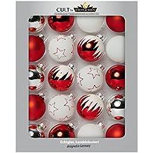 suchergebnis auf f r weihnachtskugeln rot weiss. Black Bedroom Furniture Sets. Home Design Ideas