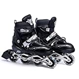 Acorn Carbon Steel Quad Roller Skates (6-9 UK)
