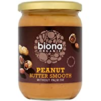 Biona Organic Smooth Peanut Butter 500 g