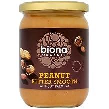Biona Organic Smooth Peanut Butter 500 g