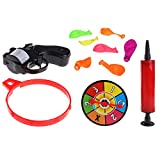 Lergo Russian Roulette Model Balloon Gun Pistol Bang Party Game Fun Tricky Toy Gift
