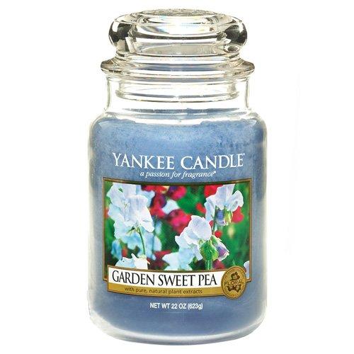 Yankee Candle Glaskerze, groß, Garden Sweet Pea