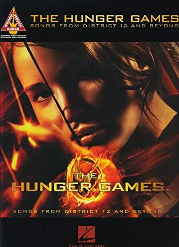 The Hunger Games: Songs From District 12 And Beyond (TAB): Songbook für Gitarre (Guitar Recorded Versions)