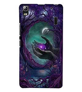 ColourCraft Creative Image Design Back Case Cover for LENOVO A7000 PLUS