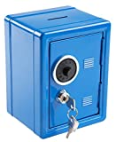 Idena 337159 - Spartresor 12 x 10,5 x 16 cm - Farbe: Blau