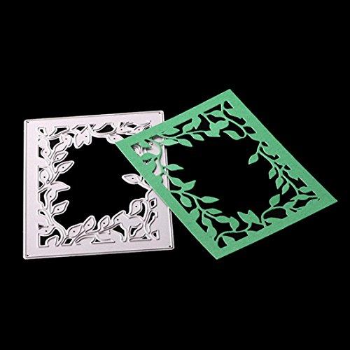 t Schablone erthome DIY Scrapbooking Album Papier Karte Decor Craft Präge Schablone (L) (Cartoon Halloween Schablonen)
