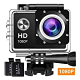 Action Cam WiFi 1080P 16MP Full HD Action Kamera BUIEJDOG Action Camera Ultra Full HD 2