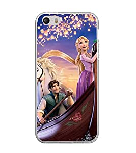 Printvisa Princess Sailing With The Prince Back Case Cover for Apple iPhone 4::Apple iPhone 4S