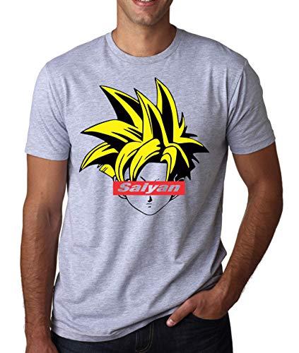 ShutUp Co. Kid Gohan Dragonball Camiseta para Hombre Large