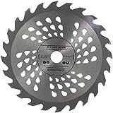 Lame de scie circulaire de qualité supérieure - 185 mm - Pour disques de coupe du bois - 185 x 20 x 24 dents - Pour Bosch Makita Dewalt