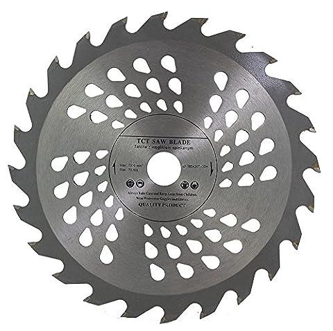 Lame de scie circulaire de qualité supérieure (Skill) 185mm de scie pour disques de coupe de bois circulaire 185x 20x 24T