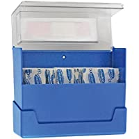 Premium-Pflaster-Wandhalter, Wundpflaster, Pflaster-Box inkl. 100-tlg Pflaster-Set, transparenter Deckel preisvergleich bei billige-tabletten.eu