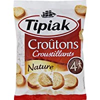Tipiak - Croûtons natures - Le sachet de 90g - Prix Unitaire - Livraison Gratuit Sous 3 Jours