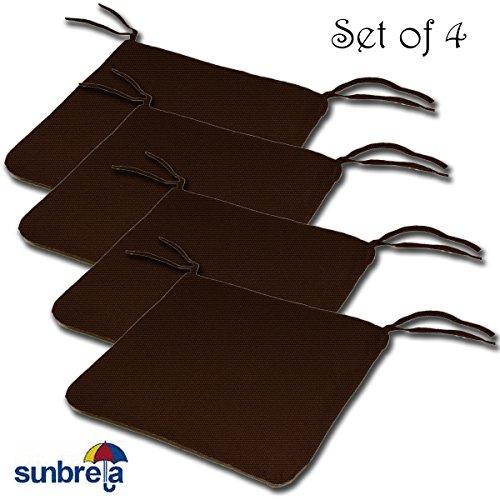 Set von 420W x 19dx 2.5h Sunbrella Indoor-/Outdoor Messer EDGE Style Sitzpolster Kissen by Komfort Classics INC. Hergestellt in den USA