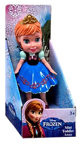 "Jakks Pacific Jakks Pacific Disney Frozen Anna 3"" Mini Doll"