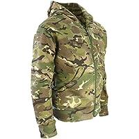 Kombat UK Sudadera con capucha para ni&ntilde, Camuflaje, Infantil, color British Terrain Pattern, tamaño 12-13 años