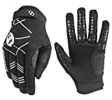 Seibertron B-A-R PRO 2.0 Signature Baseball/Softball Batting Gloves Super Grip Finger Guanti da Baseball da Battitore Fit for Adult Fit for Adult Nero L
