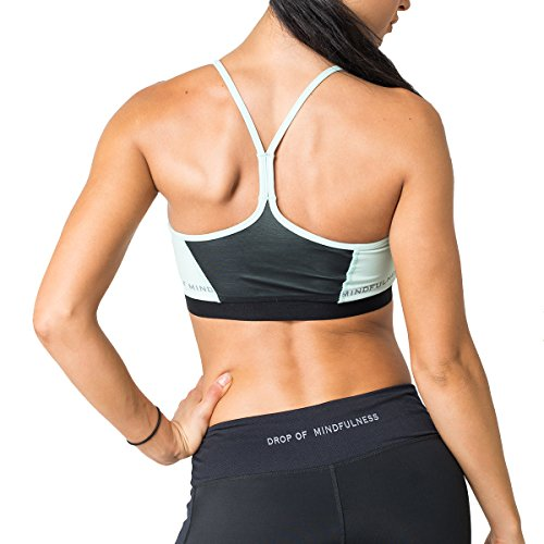 Drop of Mindfulness Damen Sport Bra Freja Aqua