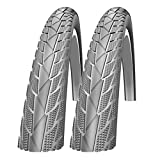 Impac Streetpac 26 x 1.75 Slick Mountain Bike Tyres (Made by Schwalbe)