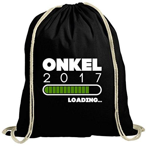 Geschenkidee natur Turnbeutel mit Onkel 2017 Loading... Motiv von ShirtStreet schwarz natur