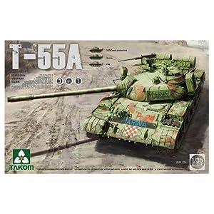 TAKOM 2056-Maqueta de Russian Medium Tank T de 55A