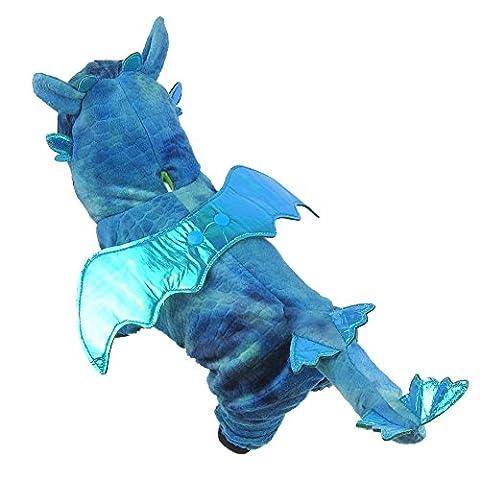 Costumes Pour Animaux Pour Les Grands Chiens - LAEMILIA Veste Veston Hiver Dragon Déguisement Cosplay