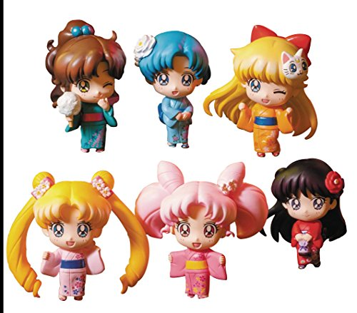 Megahouse: Petit Chara de Sailor Moon Sailor Let 's go Festival versión figura Set